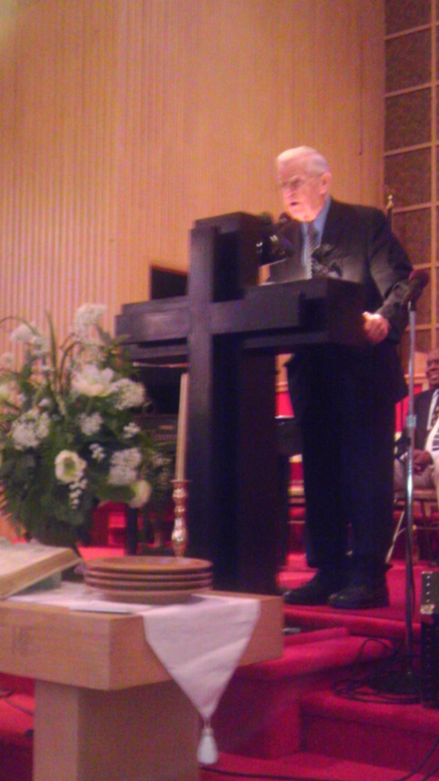 Pastor Richard Oldham
